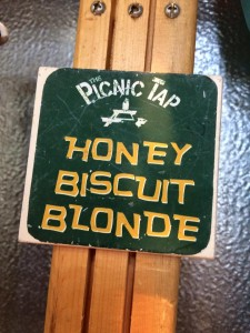 The Picnic Tap handle 1